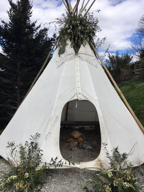 & Teepee Tent Fun | andreacrawfordflowers.co.nz